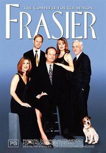 Frasier - Complete Fourth Season 4  (DVD, 2005, 4-Disc Set) R4  NEW