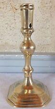 bougeoir bronze fin 17eme haute époque candlestick (n°15)