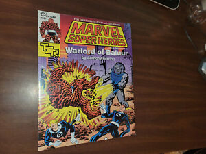 Marvel Super Heroes MSL2 Warlord of Baluur TSR 1991 shrinkwrapped