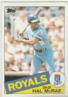 FREE SHIPPING-MINT-1985 Topps #773 Hal McRae Royals PLUS BONUS CARDS