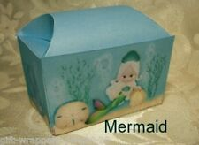 Mermaid Treasure Chest 10x DIY Gift Treat Box Party Birthday Small Bomboniere Sz