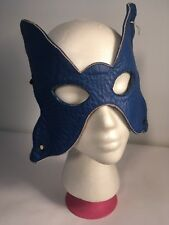 Leather Fetish Masquerade Cosplay Butterfly Mask 11.5""