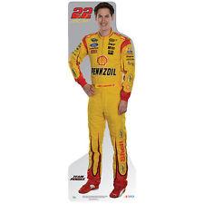 JOEY LOGANO #22 NASCAR Auto Racing CARDBOARD CUTOUT Standup Standee Poster F/S