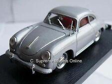 PORSCHE 356C COUPE SPORTS CAR 1/43RD SCALE SILVER COLOUR VERSION K204 /=/