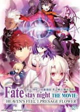DVD Anime Fate/Stay Night Movie Heaven's Feel I. Presage Flower English Subtitle