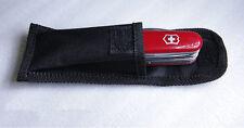 NEW HQ Mini Black Nylon Sheath For Saber Folding Pocket Knife Fine Pouch Case