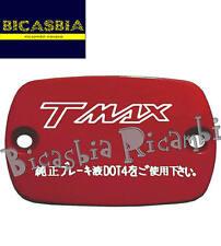 7437 - COPERCHIO POMPA FRENO ROSSO YAMAHA 500 T-MAX T MAX TMAX