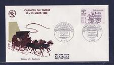 enveloppe 1er jour   journée du timbre   Paris      1988
