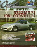 81 Corvette's - The Corvette Restorer Vol 33, Number 4, Spring 2007 Hot Rod USA