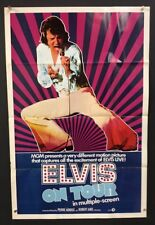Elvis on Tour 1972 Movie Poster Elvis Presley Concert Film   *Hollywood Posters*