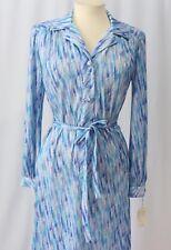 Vintage 70s Dress Secretary NWT sz 14
