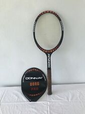 Vintage Donnay Tennis Racquet Borg Pro With Case, Amazing Condition!!!