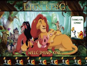 Set or Choice Simba Lion King 10 Water Bottle Labels -10 Potato Chip bags