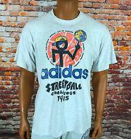 Vintage Adidas Originals Streetball 1995 Challenge Retro Shirt Size L