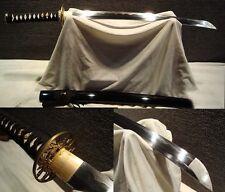 Clay Tempered T10 Folded Steel  Japan Samurai Sword Katana Wakizashi Sharp Blade