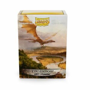 DRAGON SHIELD - Standard Art Card Sleeves 'The Oxbow' Pack of 100