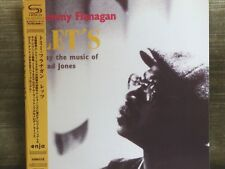 TOMMY FLANAGAN-Let's Play The Music Of Thad Jones-93/2008 CD SHM MINI LP