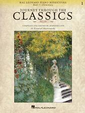 Journey Through the Classics: Piano Lesson Book 1 Elementary  Hal Leonard Method