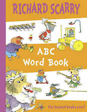 ABC Word Book by Richard Scarry  PAPERBACK NEW FREE P&P
