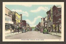POSTCARD:  KINGSTON, ONTARIO, CANADA - PRINCESS STREET - FRIGIDARE & OTHER SIGNS