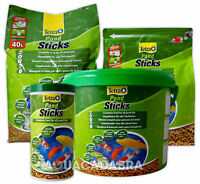TETRA POND STICKS FLOATING FOOD FISH KOI GARDEN TETRAPOND 4L 7L 10L 15L 25L 40L
