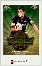 2011 Select NRL Champions Trading Cards Rookie 2010 R56 Andrew Fifita (Tigers)
