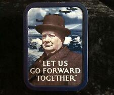 Half Moon Bay Winston Churchill Jigsaw puzzle in a tin caddy