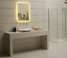 Badspiegel LED Spiegel GS084N mit Beleuchtung Badezimmerspiegel warmweiß IP44
