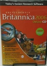 Encyclopedia Britannica 2006 Deluxe CD