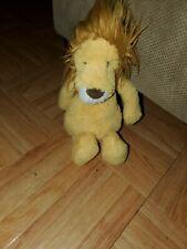 """Jellycat Bashful Lion Plush Stuffed Animal 7"""""""