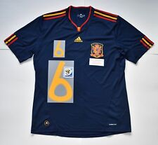 COMPLETE SET SPAIN 2010 WC WINNER FINAL JERSEY , SS , XL , B NEW WITHOUT TAG.