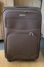 Travelling Suitcase Multiple Compartments On Wheels Used In Great Condition