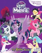 NEW My Little Pony My Busy Books Figurines + Playmat + Storybook FREE SHIPPING