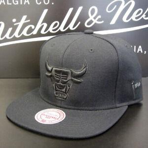 Mitchell & Ness Chicago Bulls Black On Black