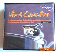 Set Pulizia per dischi Vinile - Spazzola - Panno - Liquido Antistatico per Stilo