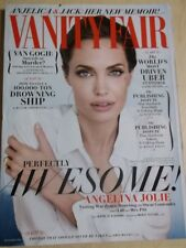 december 2014 Vanity Fair Angelina Jolie sexy cover