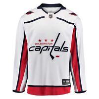NHL Trikot Jersey Washington Capitals Breakaway Fanatics Eishockey Road weiß