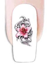 Blumen -119 Wraps Nail Art Tattoo Sticker Decal Fingernägel Fuß-Nägel Aufkleber