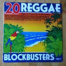 20 Reggae Blockbusters - Trojan Vinyl LP - TRLS 176 - A1/B1