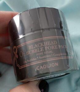 CAOLION Premium Blackhead O2 Bubble Pore Pack Travel Size 15g ( Sealed)