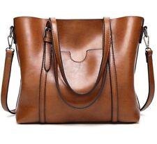 Women Handbag Faux Leather Lady Shoulder Bag Top Handle Bag Messenger Purse Tote