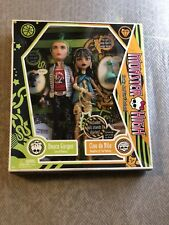 Monster High 2009 First Wave Deuce Gorgon and Cleo de Nile NIB New in Box