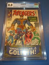 Avengers #28 Silver age 1st Collector 1st Goliath CGC 8.0 VF Beauty Wow Key