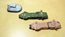 Lot of 3 - Battletech Ral Partha Trucks Hovercraft Vehicle- Painted - Lead Metal