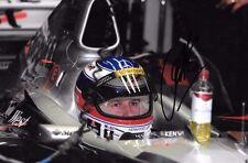 Olivier Panis función de controlador de prueba de retrato firmado McLaren temporada 1999 GP