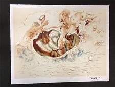 Sirens and the Sailor Fine Art Lithograph Salvador Dali S2