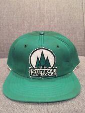 Vintage Westridge Park Lodge Alberta Canada Trucker Hat Edmonton Devon AB