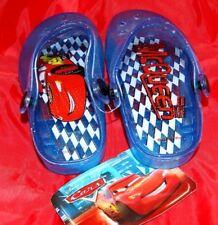chaussure ETE SANDALE SABOT BLEU CARS DISNEY GARCON ENFANT PONTURE 24 NEUF