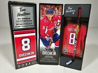 2020 Alex Ovechkin Tim Hortons Limited Edition NHL Stick / Locker * DAMAGED *
