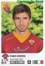 428 FABIO BORINI ITALIA AS.ROMA STICKER CALCIATORI 2012 PANINI